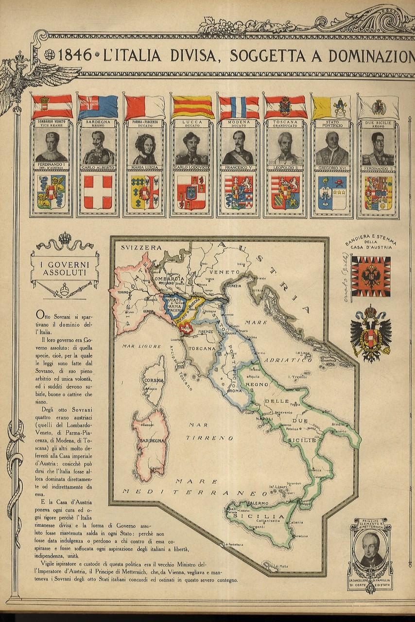 Cartina Italia 1848.L Italia Nel 1848 49 Libreria Antiquaria Gozzini